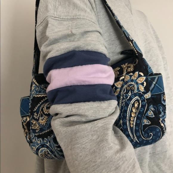 Vera Bradley Windsor Navy shoulder bag